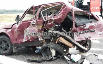 Τροχαίο με έναν νεκρό και δυο τραυματίες στην εθνική οδό έξω από τη Λαμία
