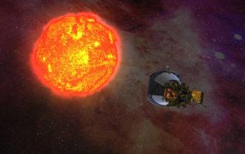Το Solar Parker της Nasa έφτασε πιο κοντά στον Ήλιο από οποιοδήποτε άλλο σκάφος μέχρι σήμερα