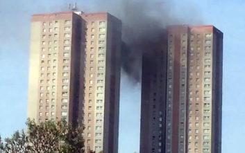 Συναγερμός στο Λιντς για φωτιά σε ουρανοξύστη