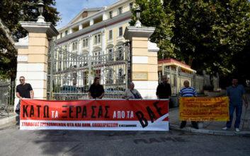 Πορεία εργαζομένων του ΟΤΑ και στη Θεσσαλονίκη