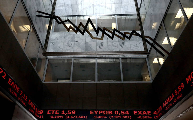 Συνεχίστηκε η πτώση στο Χρηματιστήριο Αθηνών – Χαμηλή η συναλλακτική δραστηριότητα