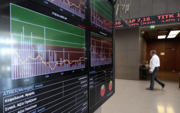 Χρηματιστήριο Αθηνών: Στις 772,66 μονάδες ο Γενικός Δείκτης Τιμών