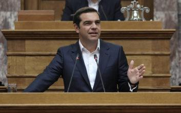 Τσίπρας: «Ναι» στη διενέργεια δημοψηφίσματος με λαϊκή πρωτοβουλία