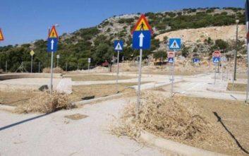 Άγνωστοι προκάλεσαν καταστροφές στο πάρκο κυκλοφοριακής αγωγής Μεσολογγίου