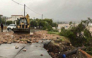 Πού έχει διακοπεί η κυκλοφορία στη Στερεά Ελλάδα
