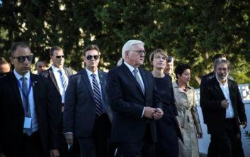 Στην Αθήνα ο πρόεδρος της Γερμανίας