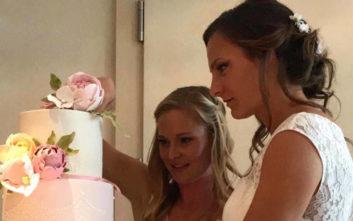 Η Μπάγερν ευχήθηκε σε δύο παίκτριές της που παντρεύτηκαν