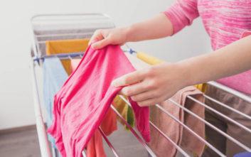 Τρεις συμβουλές για να στεγνώνουν πιο γρήγορα τα ρούχα το χειμώνα ... 6ed0d012572