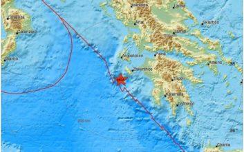 Μεγάλος σεισμός τώρα στο Ιόνιο