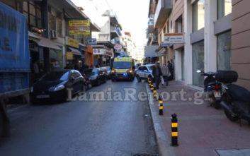 Άτυχη κοπέλα στη Λαμία, τραυματίστηκε από τάκο φορτηγού