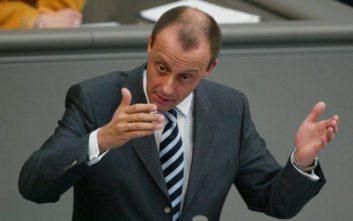 Ο πρώτος υποψήφιος για το CDU μετά τη «βόμβα» Μέρκελ