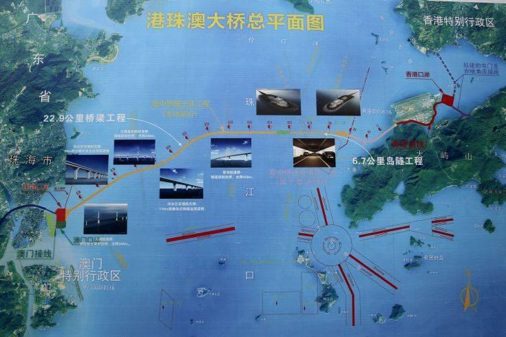 Η μακρύτερη θαλάσσια γέφυρα του κόσμου είναι γεγονός