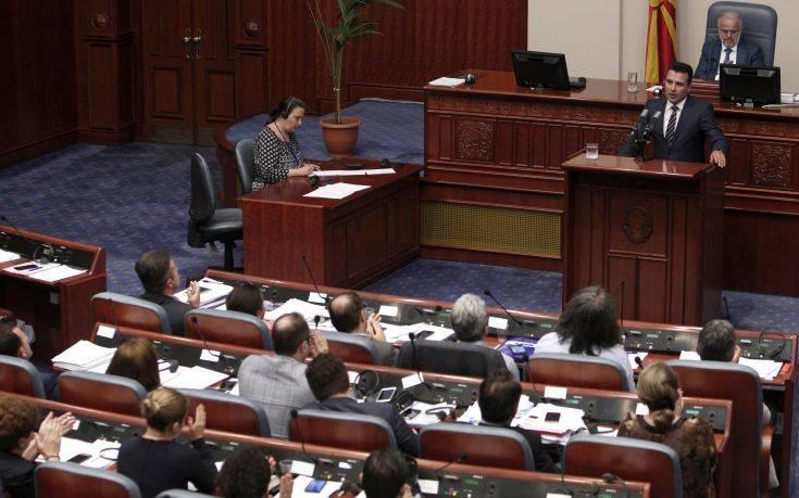 Οι ΗΠΑ χαιρετίζουν την απόφαση της Βουλής της πΓΔΜ για την τροποποίηση του συντάγματος