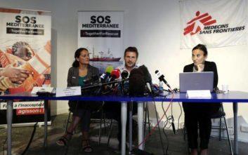 Επίθεση ακροδεξιών στα κεντρικά της γραφεία καταγγέλλει η SOS Mediterranee