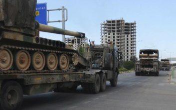 Νέα τουρκική οχηματοπομπή μπήκε σε ζώνη που ελέγχουν αντάρτες στη Συρία