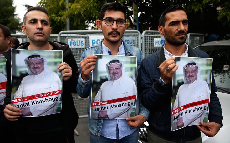 «Ο Πρίγκιπας της Σαουδικής Αραβίας συνοδεύεται από άτομο που συνδέεται με τον Κασόγκι»