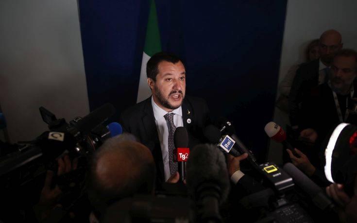 Σαλβίνι: Μη διανοηθείτε να μας στείλετε επιτρόπους και τρόικες