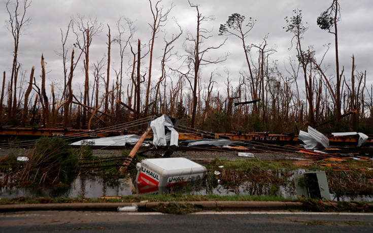 Τουλάχιστον 6 νεκροί από το πέρασμα του κυκλώνα «Μάικλ»