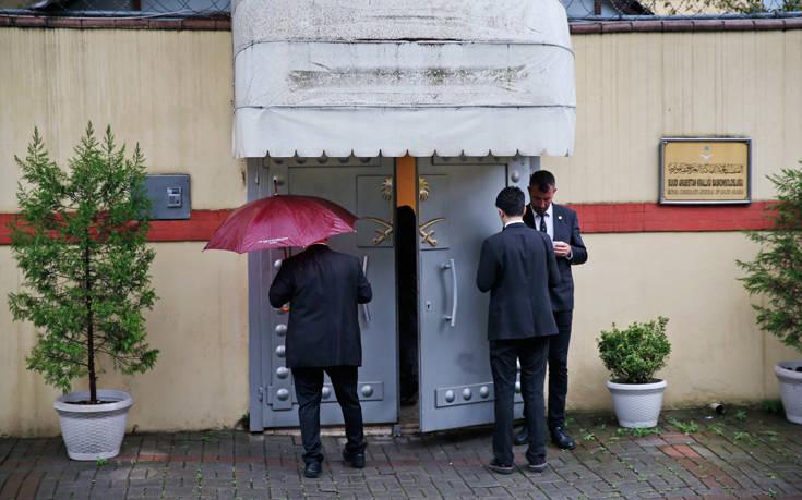 Έφυγαν από το προξενείο οι Σαουδάραβες και οι Τούρκοι ερευνητές της υπόθεσης Κασόγκι