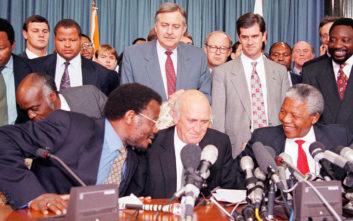 Έφυγε από τη ζωή ο Νοτιοαφρικανός πολιτικός Πικ Μπότα