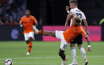 «Καθάρισε» εύκολα τη Γερμανία η νεανική Ολλανδία