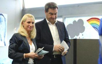 Τι δείχνει το πρώτο exit poll από τις εκλογές στη Βαυαρία