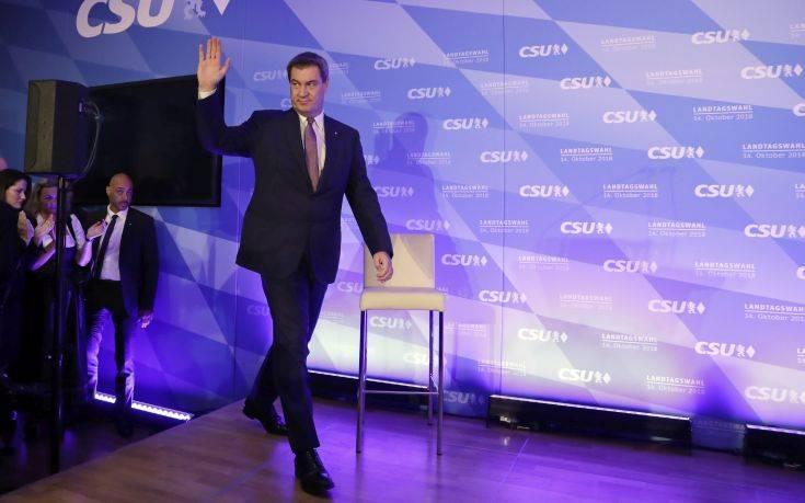 Υποψήφιος για την ηγεσία της CSU ο πρωθυπουργός της Βαυαρίας