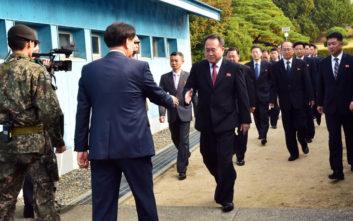 Έργα σιδηροδρομικής και οδικής σύνδεσης συμφώνησαν Βόρεια και Νότια Κορέα