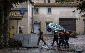 Τα νέα στοιχεία των γαλλικών αρχών ανεβάζουν τον αριθμό των νεκρών από τις πλημμύρες