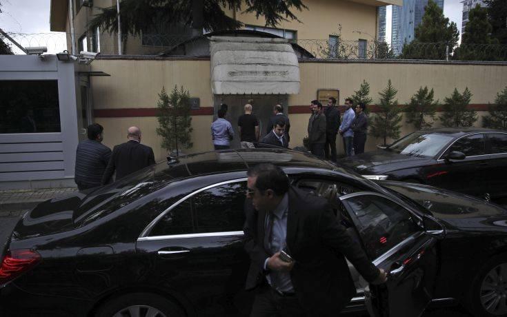 Η τουρκική αστυνομία μπήκε στο προξενείο της Σαουδικής Αραβίας