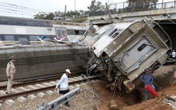 Τουλάχιστον επτά οι νεκροί από τον εκτροχιασμό τρένου στο Μαρόκο
