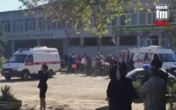 Μυστήριο τα κίνητρα του δράστη που αιματοκύλισε κολέγιο στην Κριμαία
