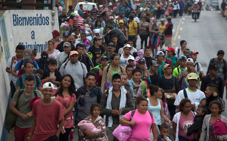 Το ανθρώπινο καραβάνι των 7.000 μεταναστών καθ' οδόν για τις ΗΠΑ