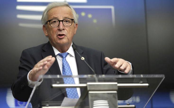 Brexit: Παραμένει ο κίνδυνος άτακτης αποχώρησης, προειδοποιεί ο Γιούνκερ