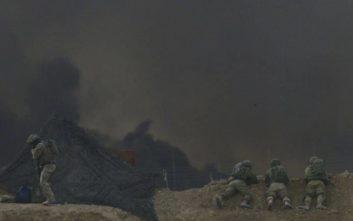 Αεροπορικές επιδρομές κατά στόχων της Χαμάς