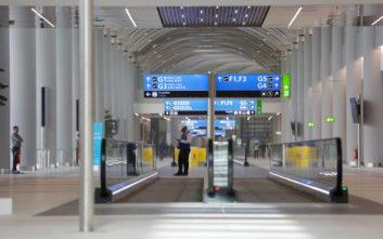 Ο Ερντογάν κόβει την κορδέλα στο νέο γιγάντιο αεροδρόμιο της Κωνσταντινούπολης