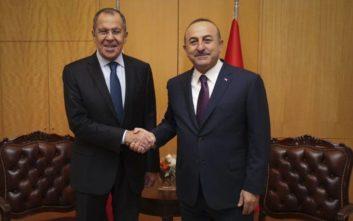 Κοινές δράσεις για τη σταθερότητα στη Συρία αποφάσισαν Λαβρόφ και Τσαβούσογλου