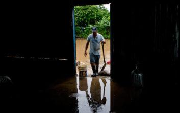 Δεκατέσσερις νεκροί από τις σφοδρές βροχές στη Νικαράγουα