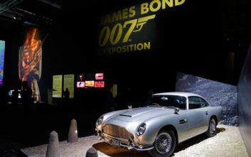 Πού κυκλοφορούν οι Aston Martin που οδήγησε ο 007