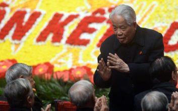 Πέθανε σε ηλικία 101 ετών ο πρώην γενικός γραμματέας του Κομμουνιστικού Κόμματος, Ντο Μουόι