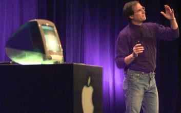 Η ερώτηση που έκανε ο Στιβ Τζομπς και έκανε την Apple έναν κολοσσό 3 τρισ. δολαρίων