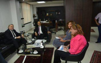 Κατρούγκαλος: Ελληνικές επιχειρήσεις θα συμμετάσχουν στο πρόγραμμα ανάπτυξης του Λιβάνου