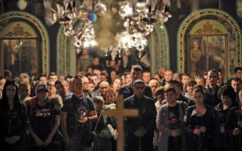 Εκατοντάδες κόσμου στην κηδεία της Βουλγάρας δημοσιογράφου