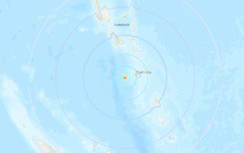 Σεισμός τώρα ανοιχτά του Βανουάτου
