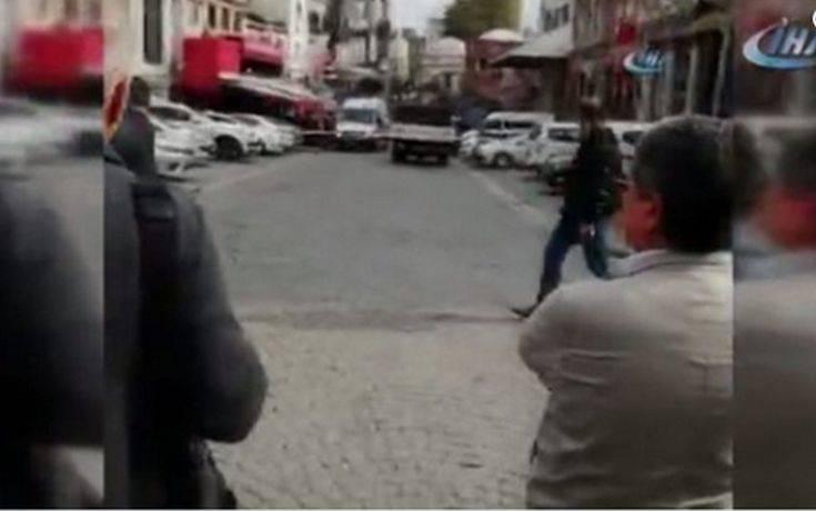 Πυροβολισμοί σε κεντρική περιοχή της Κωνσταντινούπολης