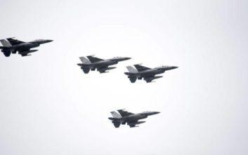 Εικονικές αερομαχίες μεταξύ ελληνικών και τουρκικών μαχητικών πάνω από το Αιγαίο