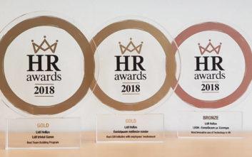 Τρεις νέες διακρίσεις για τη Lidl Eλλάς στα HR Awards 2018
