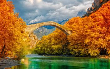 Το γεφύρι που μοιάζει να έχει ξεπηδήσει από παραμύθι