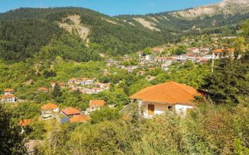 Ένα πανέμορφο χωριό χωμένο στην αγκαλιά των Τζουμέρκων