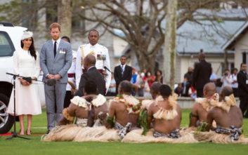 Στα νησιά Φίτζι ο πρίγκιπας Χάρι και η Μέγκαν Μαρκλ